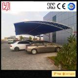 Carports del metallo della tenda di parcheggio del veicolo di trasporto del metallo dello schermo di Sun con il tetto impermeabile dello strato per l'automobile