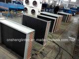 Riga verticale di corrente d'aria la singola smazza il condensatore raffreddato aria