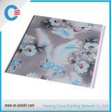 Panneau de mur populaire plat de PVC de modèle de fleur de panneau de plafond de PVC