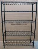 Exposición de la pantalla metálica estanterías para almacenamiento de estante de Dinamarca