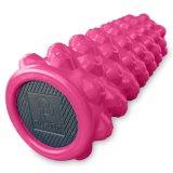 Physiophit Muscle Foam Roller - Haute densité, la grille des points de déclenchement offre un soulagement de la douleur maximal et un massage profond pour les muscles douloureux, extra F