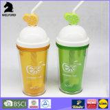 Plastikbecher-Arbeitsweg-Tee-Cup für Verkauf