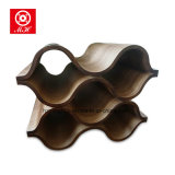 Customized Bamboo Wine Rack para muebles decorativos de la barra