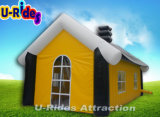 De dubbele Tent van het Huis van de Laag Opblaasbare voor OpenluchtGebruik