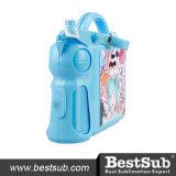 Rectángulos de almuerzo de Plastichandle con el azul de la pieza inserta (BFH46071LB)