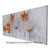 Impression abstraite encadrée d'art d'horizontal de peinture à l'huile de toile pour le décor de mur