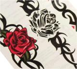 Стикеры Tattoo Totem Rose водоустойчивые временно