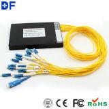 Manica ottica CWDM del modulo 16 del multiplexor di passivo CWDM della fibra