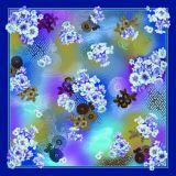 高品質の美しいカスタムデジタル印刷のスカーフ(F13-0031)