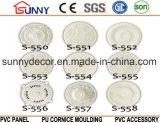 Precio de fábrica PU Lámpara de poliuretano Piscina / espuma PU moldeo / medallón