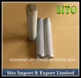 Filtro de engranzamento do fio do aço inoxidável do filtro do cilindro