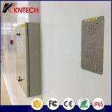VoIP Teléfono de la emergencia del acero inoxidable Teléfono Knzd-15c