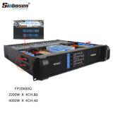 4 canaux Sinbosen Fp20000Q DJ amplificateur de puissance audio professionnel pour caisson de basses de 18 pouces