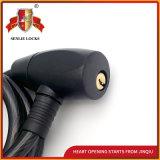 Jq8205-Q Sicherheits-Spirale-Kabel-Verschluss-Motorrad-Verschluss