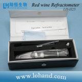 Prueba del concentrado de vino durante el refractómetro del alcohol de la elaboración de la cerveza (LH-H25)