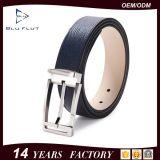 Guangzhou-Fabrik-Großverkauf-Faltenbildung-echte Rindleder-Leder-Mann-Riemen