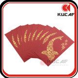 Impression par estampage à chaud Paquet de papier à la main personnalisé