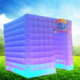 Tenda gonfiabile della struttura del cubo dell'aria esterna per l'evento del partito