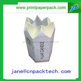 Rectángulo de papel de empaquetado de la vela del regalo del favor del embalaje de la manera del OEM