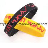 Promotion Silikon Glow Fashionale OEM Sport Armbänder mit Thb-017