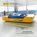 Chariot à transfert automatisé par matériau de plate-forme de travail aérien de ciseaux de batterie
