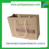 Sacs de transporteur de papier estampés personnalisés pour l'empaquetage de cadeau
