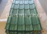 Strato di rivestimento del tetto di effetto delle mattonelle del tetto d'acciaio del ferro ondulato dell'onda
