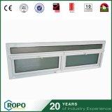 PVC huracán de impacto de doble acristalamiento Windows para baño Ventilación
