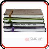 Förderndes Geschenk-elastisches Band-Tagebuch-Leder-Notizbuch