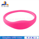 Wristband esperto simples da tela de seda RFID para banhar centros