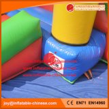 O Castelo de saltos insuflável de estoque de gavetas para as crianças com deslize (T3-401)