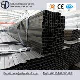 Quadratisches schwarzes getempertes Stahlrohr Q195 für Zaun