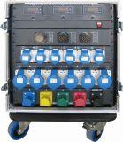 Cremagliera di potere del rifornimento elettrico con 32A e 19pin Socapex