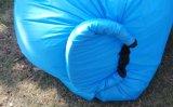 Het populaire Nylon Bed van de Slaap van de Bank van de Lucht van de Mond van de Hangmat Enige Opblaasbare (L026)
