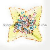 Шарф Twill квадрата печати цифров Silk ткани Silk