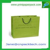 Bespoke портативная хозяйственная сумка сумок бумаги несущей мешка подарка