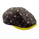 Customized Fashion Full Printing Coton IVY Cap Lady Hat