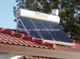 Baja presión de acero galvanizado calentadores solares de agua