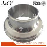 衛生ステンレス鋼連合管付属品Ds14Aによって溶接される男性はさみ金