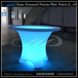 Moulage rotatif en plastique LED Furniture Bar Table