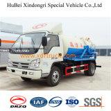 4cbm Euro4 흡입 하수 오물 트럭