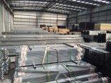 Trilhos de vedação com perfuração longa e aço galvanizado