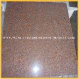 De natuurlijke Tegels van de Vloer van het Graniet van de Steen van China Rode voor Keuken/Badkamers