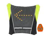Sicherheits-Drehung-Richtungs-Lampen-Beutel der Fahrrad-Kontroll-Lampe-LED für im Freien