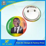 Дешевой подгонянный ценой по прейскуранту завода-изготовителя значок кнопки олова металла с любым логосом