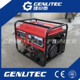 4 치기 5kw 공기는 바퀴를 가진 사용 가솔린 발전기를 집으로 냉각했다