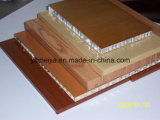 Peso ligero color de la pintura paneles de aluminio de nido de abeja de revestimiento (AHP)