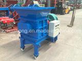 中国の工場価格のプラスチック押しつぶすシュレッダー機械、機械値段表をリサイクルする使用された不用なタイヤ