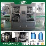 Doppelte Köpfeshrink-Hülsen-Kennsatz-Maschinerie für verschiedene Flaschen