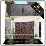 Cancello di alluminio della rete fissa della villa esterna